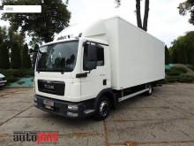 Camión furgón MAN TGL8.180 KONTENER WINDA WEBASTO TEMPOMAT PNEUMATYKA 16 PALET AU