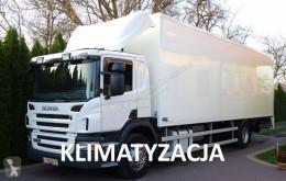 Scania furgon teherautó P 230 euro 5 kontener 22 palety winda klapa