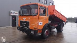 Camión MAN 16.168 (FULL STEEL SUSP. / MANUAL PUMP) volquete usado