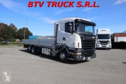 Camión Scania R 560 CASSONE FISSO EURO 5 LUNGH 8,30 MT caja abierta usado