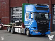 Camion plateau Scania R 580