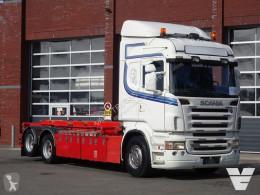 Ciężarówka Scania R 500 do transportu kontenerów używana