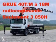 Camión caja abierta teleros Renault Premium Lander