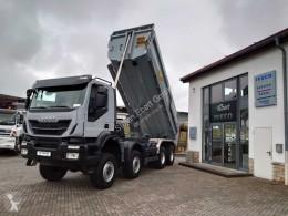 Camión volquete Iveco Trakker Trakker 450 8x8 Meiller-Mulde hydr. Heckklappe
