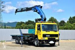 Camión caja abierta Volvo FL 10 * Platform 6,50m + EFFER 310 / 6x4