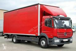 Lastbil flexibla skjutbara sidoväggar Mercedes 1530 L ATEGO Schiebeplane LBW Klima AHK