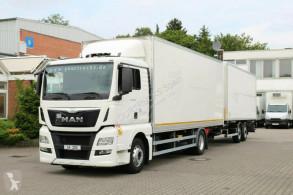 Camión furgón MAN TGX 18.440 E6/Koffer/kompletter Zug/Liege/Navi