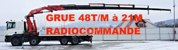 Camión DAF CF 85.480 caja abierta teleros usado