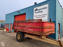 Remolque agrícola volquete con cortina 6 ton