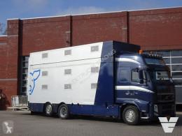 Camión remolque ganadero para ganado bovino Volvo FH13