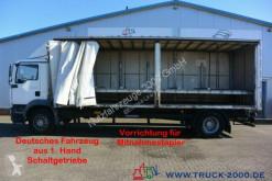 Камион подвижни завеси MAN TGM TGM 18.240 Edscha L+R Mitnahmestapler 1.Hand