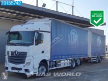 Mercedes Actros 2545 Lastzug gebrauchter Schiebeplanen