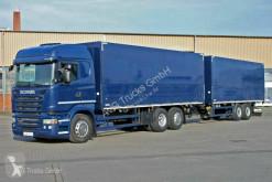 Camion remorque Scania R R450 6X2*4 Getränkezug für Stapler Lenkachse SCR fourgon brasseur occasion