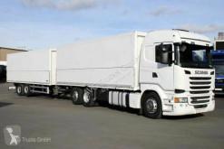 Camion remorque fourgon brasseur Scania R R450 6X2*4 Getränkezug für Stapler Lenkachse SCR