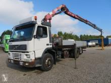 Camión Volvo FM7/290 6x2 HMF 1463 K3 caja abierta teleros usado