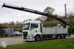Camión caja abierta teleros MAN TGS TGS 26.470 /6X2 Euro6d Retarder HIAB L235 DL-3