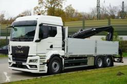 Камион MAN TGS TGS 26.470 /6X2 Euro6d Retarder HIAB 258 - 7 шпригли втора употреба