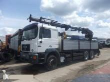 Camion MAN 26.403 platformă si obloane second-hand