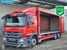Lastbil skjutbara ridåer (flexibla skjutbara sidoväggar) Mercedes Actros 2541