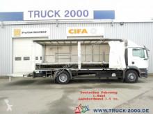 Ciężarówka MAN TGM TGM 18.240 Schiebeplanen L.+R. LBW Deutscher LKW firanka używana