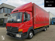 Mercedes ponyvával felszerelt plató teherautó Atego Atego 816 /Ladebordwand/Seitentür/Rück