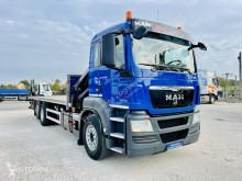 Camion MAN TGS TGX 26.360 E5 Kran HMF 1420 K2 + radio , + rotator occasion