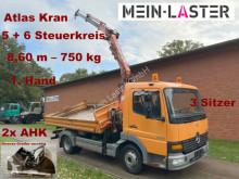Ciężarówka Mercedes Atego 815 Atego Meiller 3-S-Kipper Atlas 8.6 m - 1. Hd wywrotka trójstronny wyładunek używana