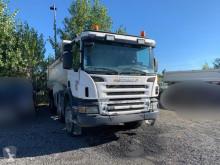 Teherautó Scania P 400 használt billenőkocsi alapozáshoz