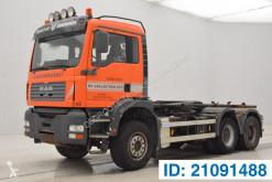 Camión Gancho portacontenedor MAN TGA 33.480