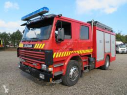 Scania tűzoltóság teherautó P93/250 4x2 Ziegler Pump 1600 l/min. 8 Bar