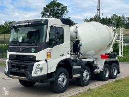 Camión Volvo FMX FMX 430 8x4 / EuroMix MTP 9 L hormigón cuba / Mezclador usado
