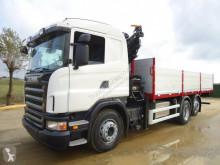 Ciężarówka platforma Scania P 420