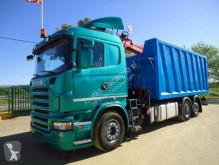 Ciężarówka Scania platforma używana
