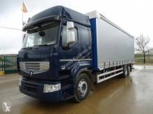 Ciężarówka firanka Renault