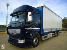 Renault függönyponyvaroló teherautó