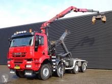 Iveco billenőplató teherautó AD410T45W / HAAKARM + Z KRAAN