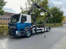 Lastbil Volvo FE FE 320 Abrollkipper Mit Kran Palfinger PK10000 polyvagn begagnad