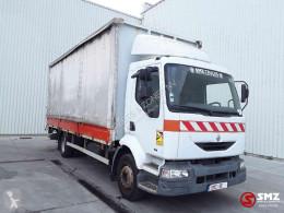 Vrachtwagen met huifzeil Renault Midlum 210