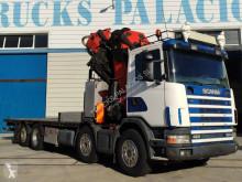 Camión Scania R124 420 caja abierta usado