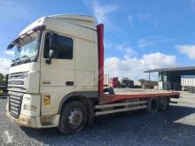 Ciężarówka platforma do transportu słomy DAF XF105 460