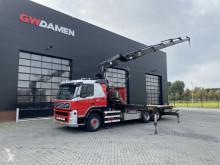 Camión Volvo FM12 caja abierta usado