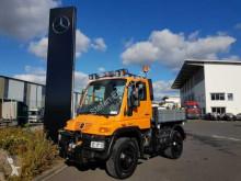 Ciężarówka Unimog U400 4x4 Kipper Vario Pilot Hydrostat Klima wywrotka trójstronny wyładunek używana