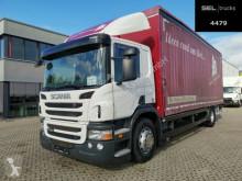 Ciężarówka Plandeka Scania P 280 / Staplerhalterung