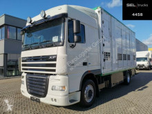 Camion DAF XF 105.460 / 2 Stock / Intarder van à chevaux occasion