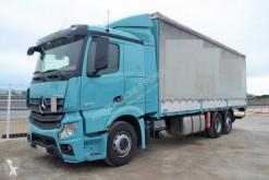 Camión Mercedes Actros 2642 lonas deslizantes (PLFD) usado