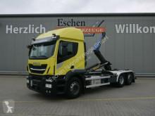 Camión Iveco AT 260SY 420*Palfinger T20-31MPA*Lift/Lenk*Klima Gancho portacontenedor usado