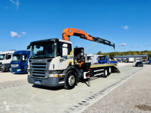 Scania autómentés teherautó R P 270 6x2 Krane , Dzwig , Super stan !