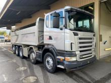 Lastbil Scania r480 lb 10x4 flak begagnad