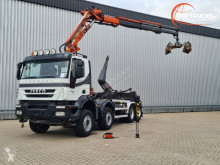 Camión caja abierta Iveco Trakker
