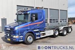 Camión Scania T portacontenedores usado